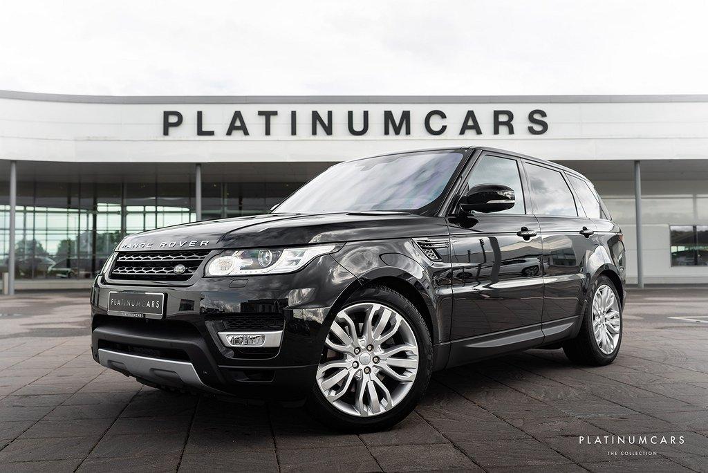 Land Rover Range Rover Sport 3.0 TDV6 4WD HSE 258hk / Panorama