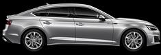 Modellbild av en Audi A5 Sportback