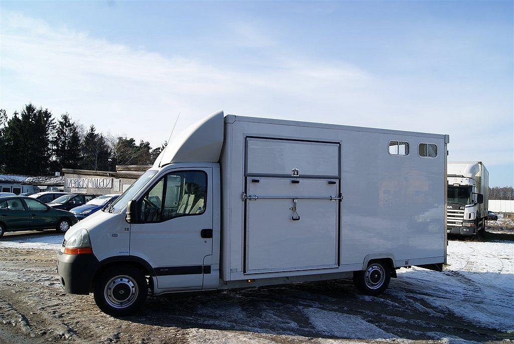Renault Master Hästbil Hästlastbil SÅLD