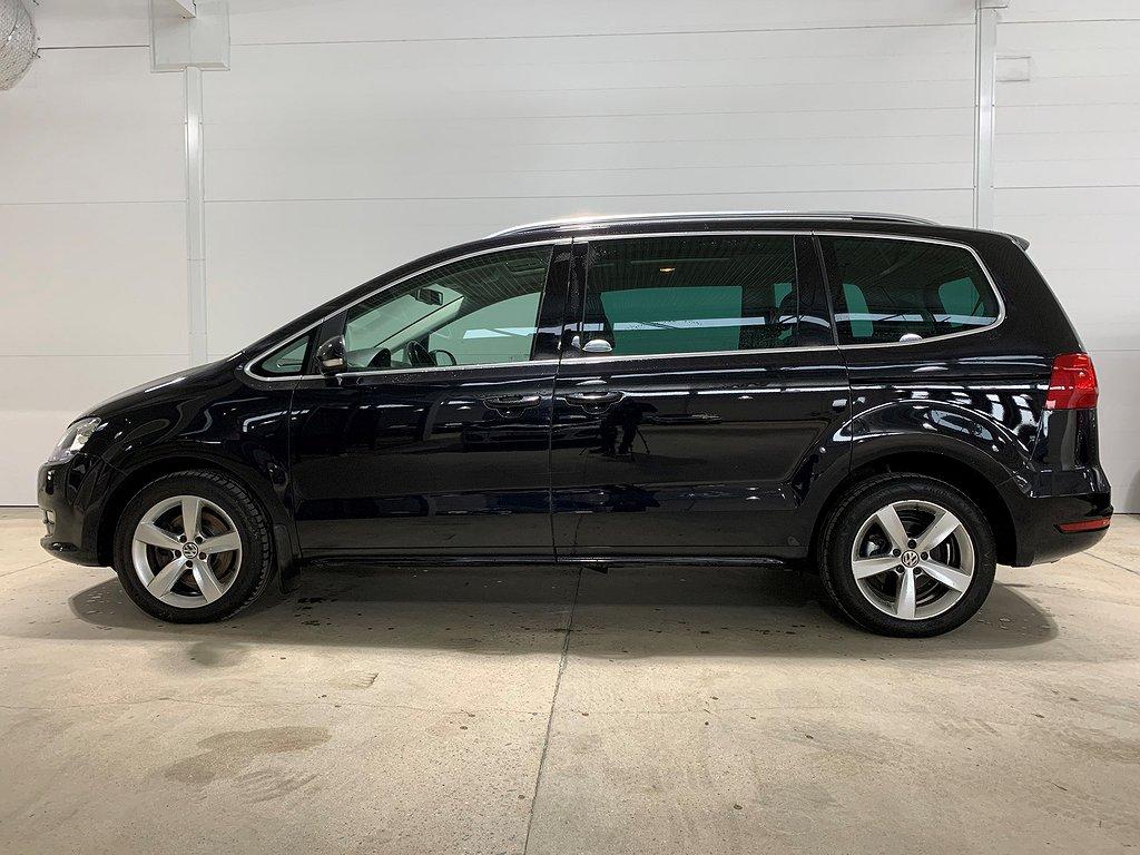 VW Sharan 2.0 TDI BlueMotion Technology 4motion (140hk)