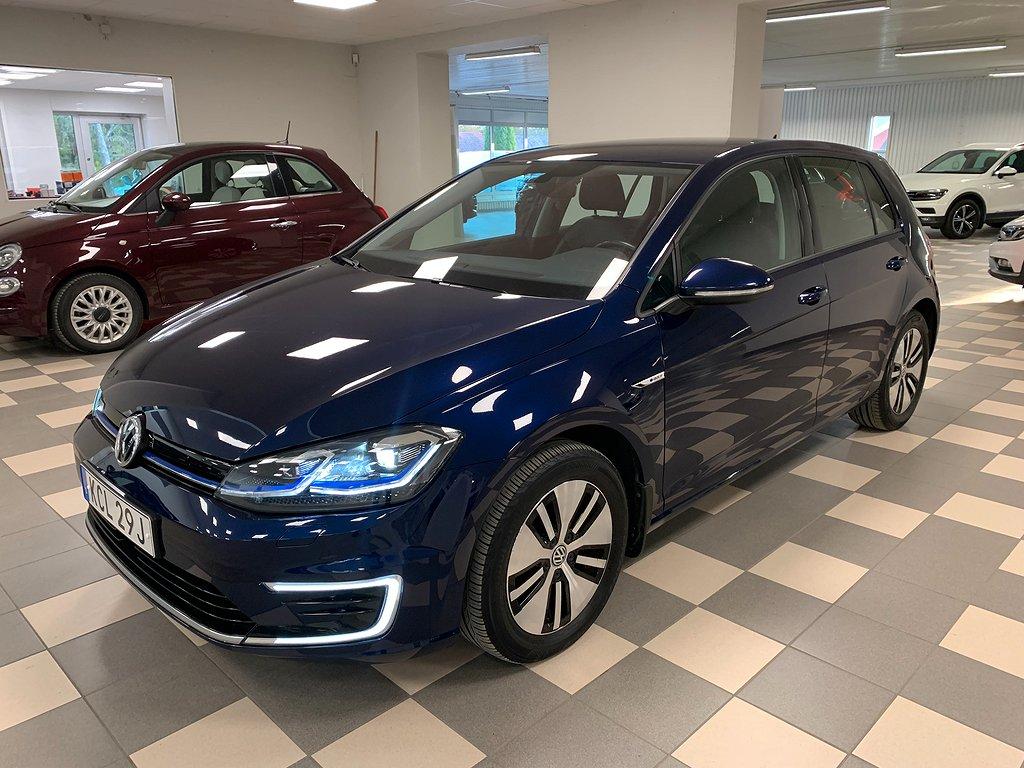 Volkswagen E-Golf 35.8 kWh Helskinn  Navi 136hk