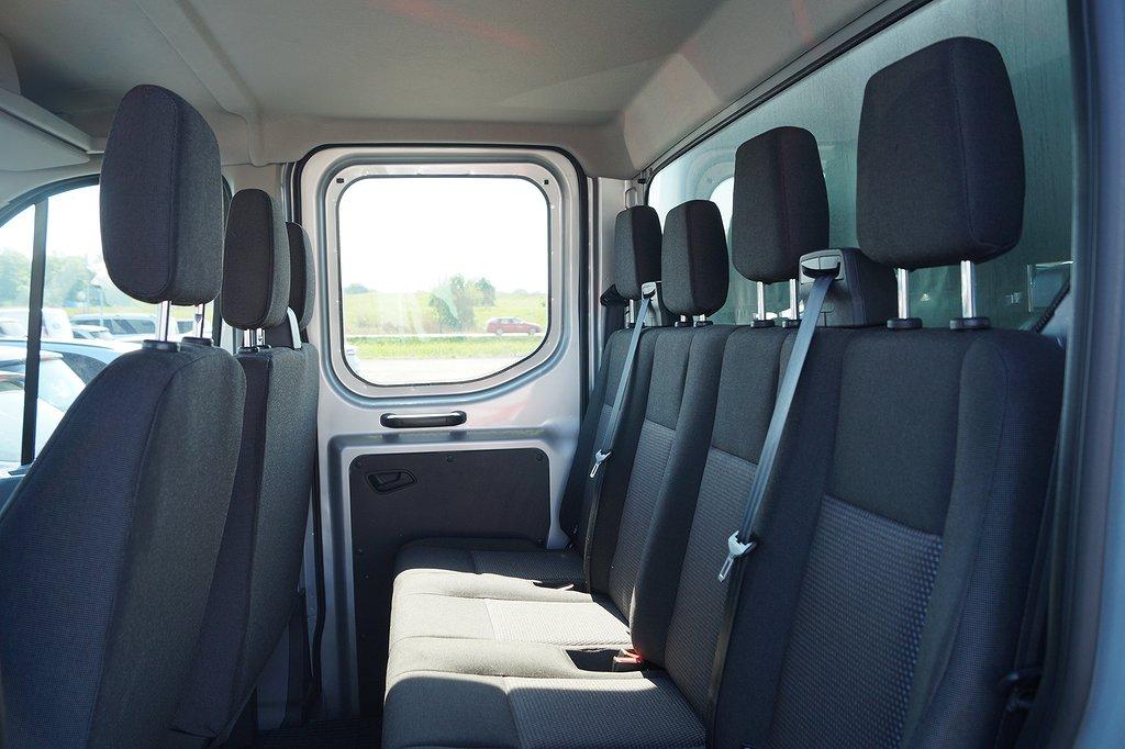 Ford Transit Chassi/Flak 310 2.2 125hk TDCi Trend Dubbelhytt 7-sits