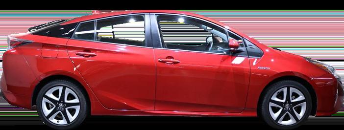 Modellbild av en Toyota Prius