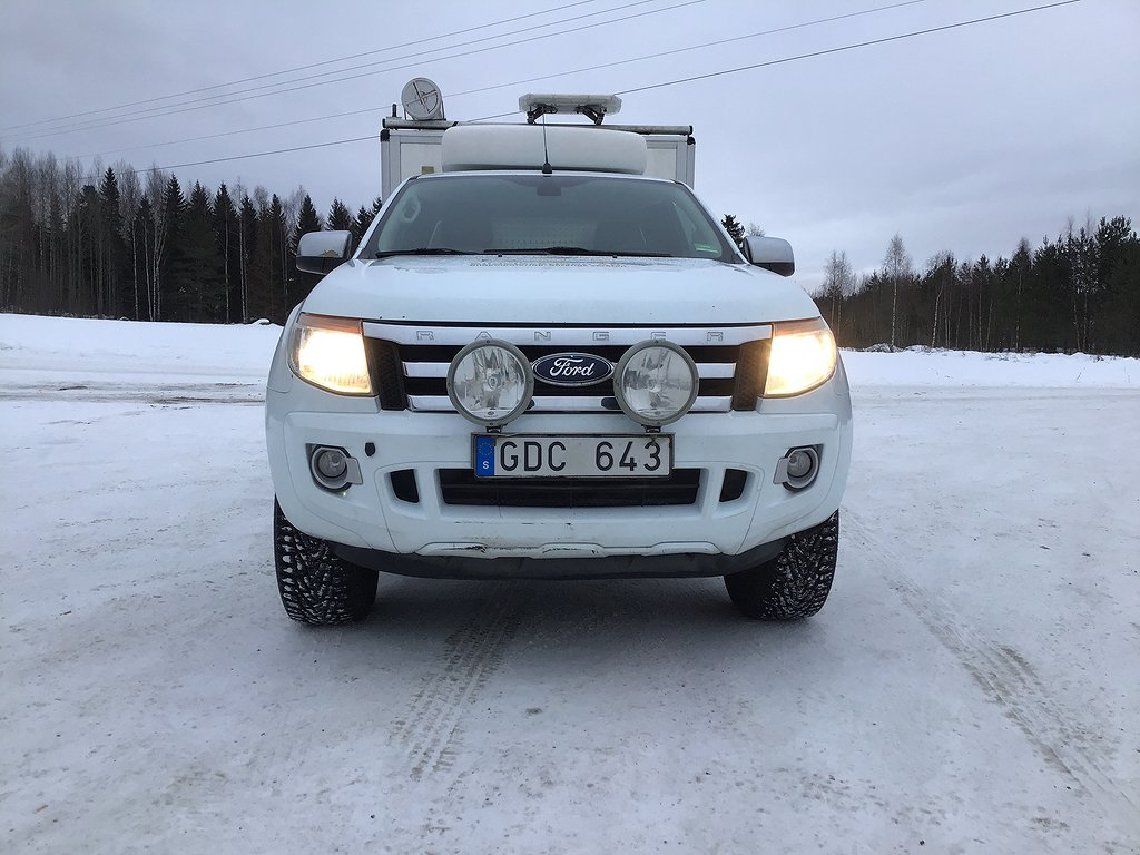 Ford Ranger SuperCab 2.2 Delbetalning 0kr ränta via Svea eller Wasa