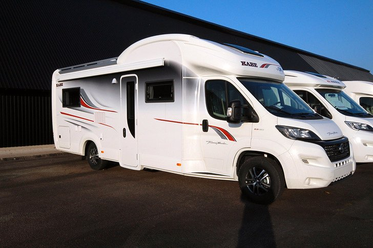 Kabe Travelmaster Crossover 780 LXL 2,5m bred