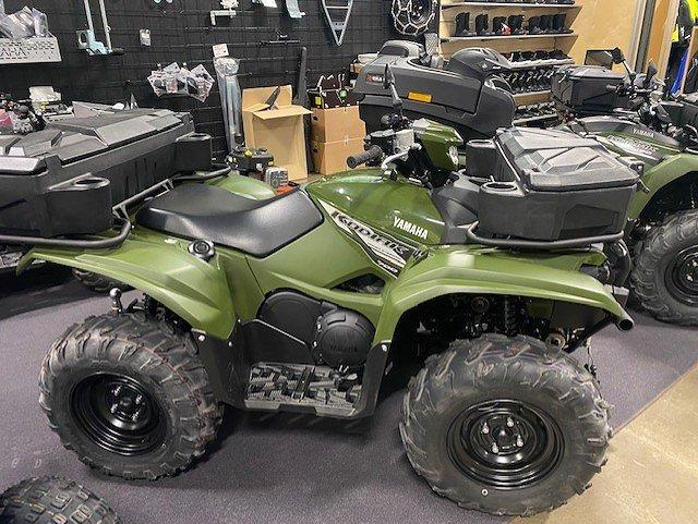 Yamaha Kodiak 700 EPS Traktor A Lejab plog