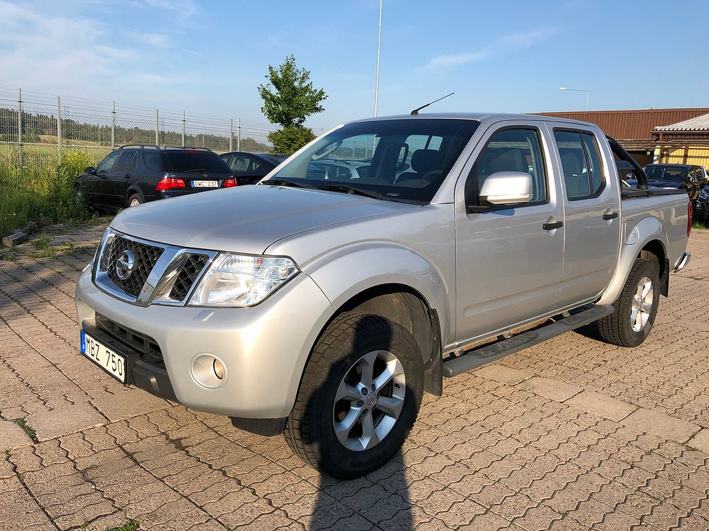 Nissan Navara 2.5DCI 191HK 4WD D-CAB BÅGE 2-ÅRS GARANTI
