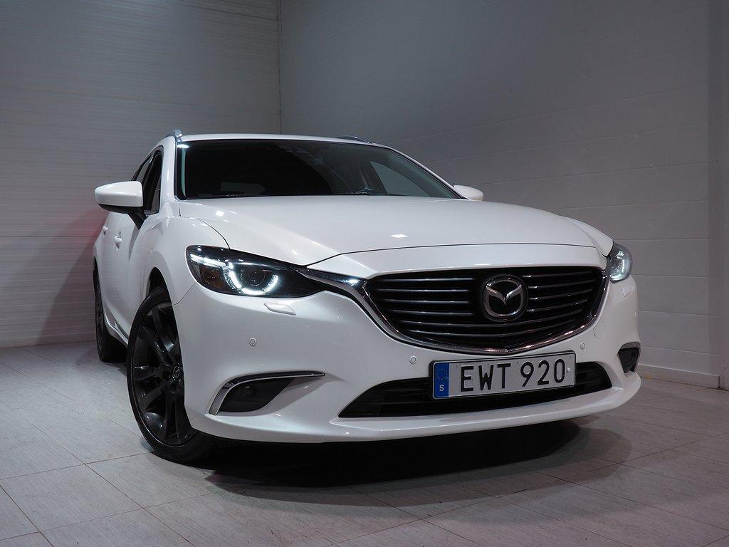 Mazda 6 Wagon Optimum 2.2 SKYACTIV-D AWD Automat Eu6 175hk 2015