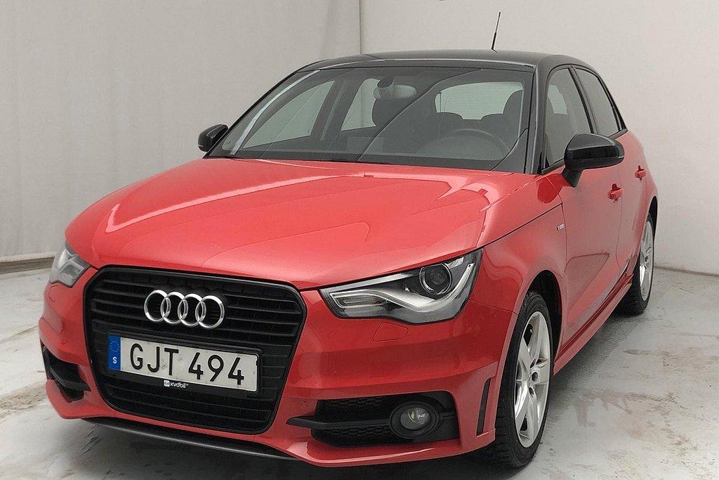 Audi A1 Sportback 1.2 TFSI Sport Edition, Proline 86hk S-Line