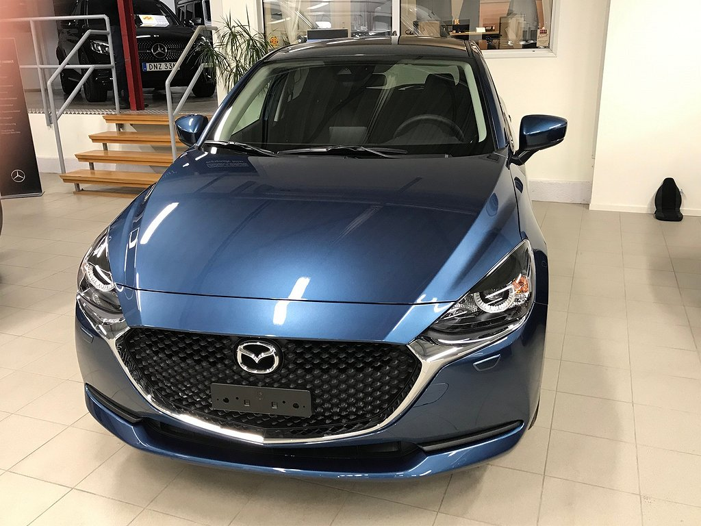 Mazda 2 1,5 90hk Vision   Mildhybrid