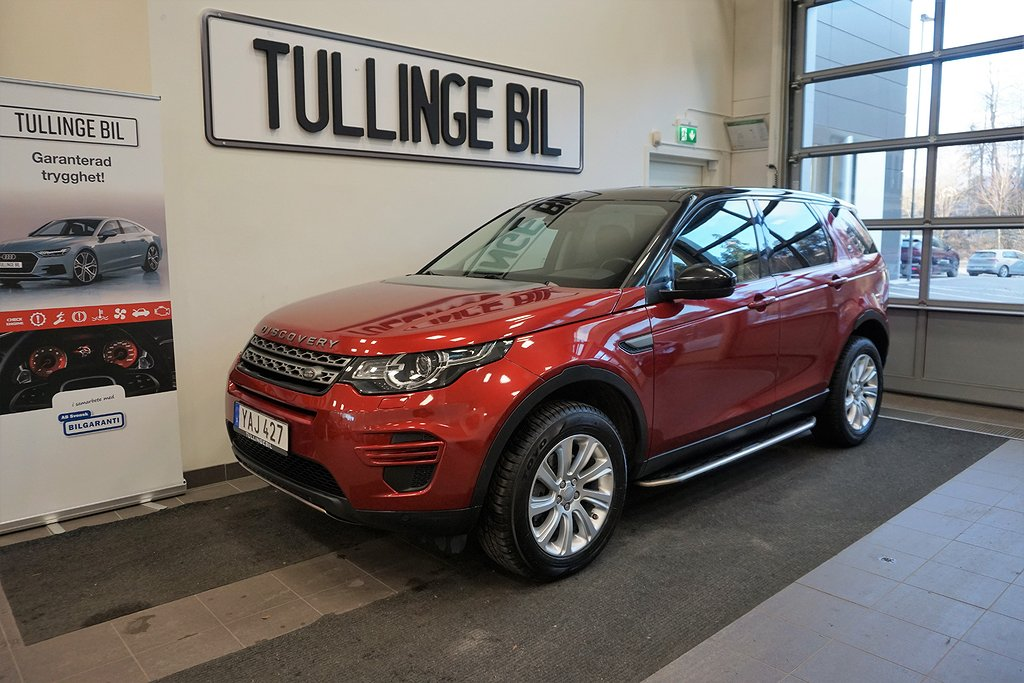 Land Rover Discovery Sport 2.0 TD4 4WD Aut Euro 6 180hk Navi