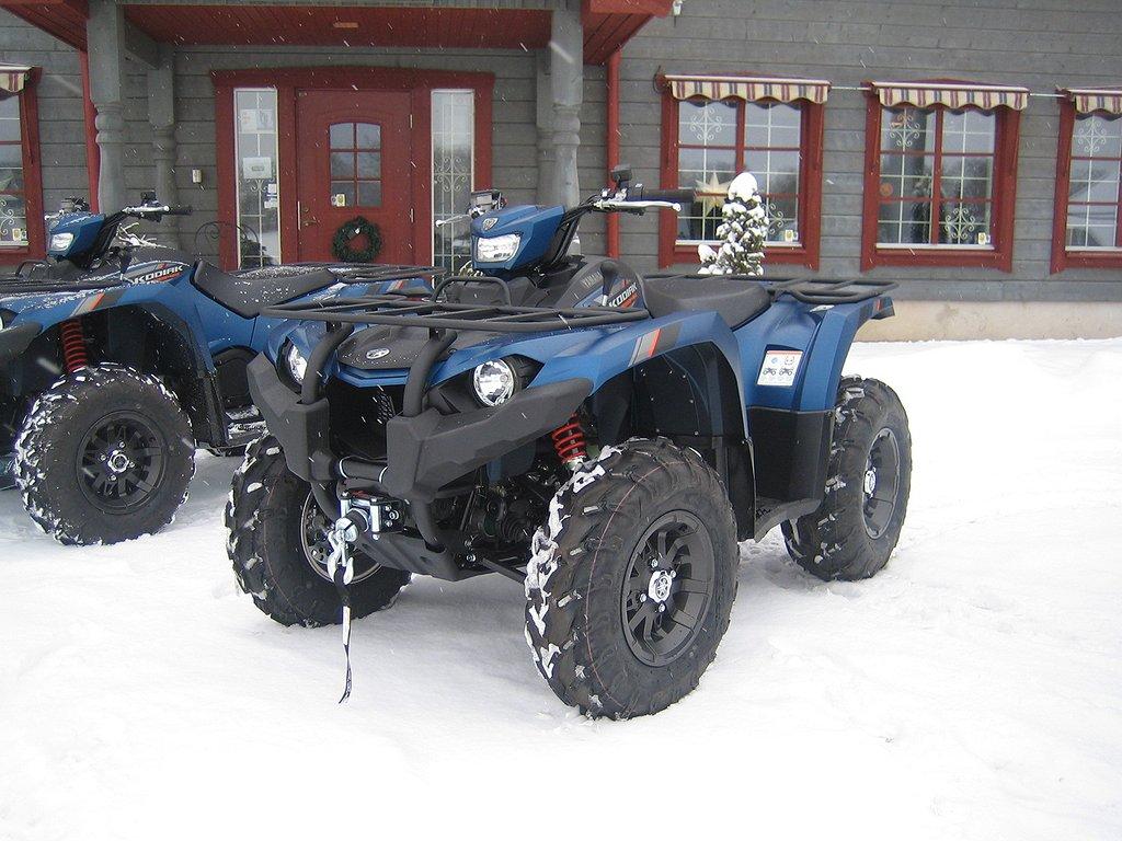 Yamaha Kodiak 450 EPS SE ALU -19 Omgående leverans