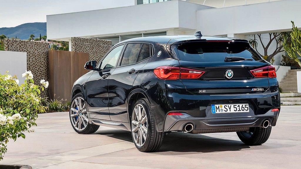 Flera laddhybrider från BMW återkallas, däribland X2.