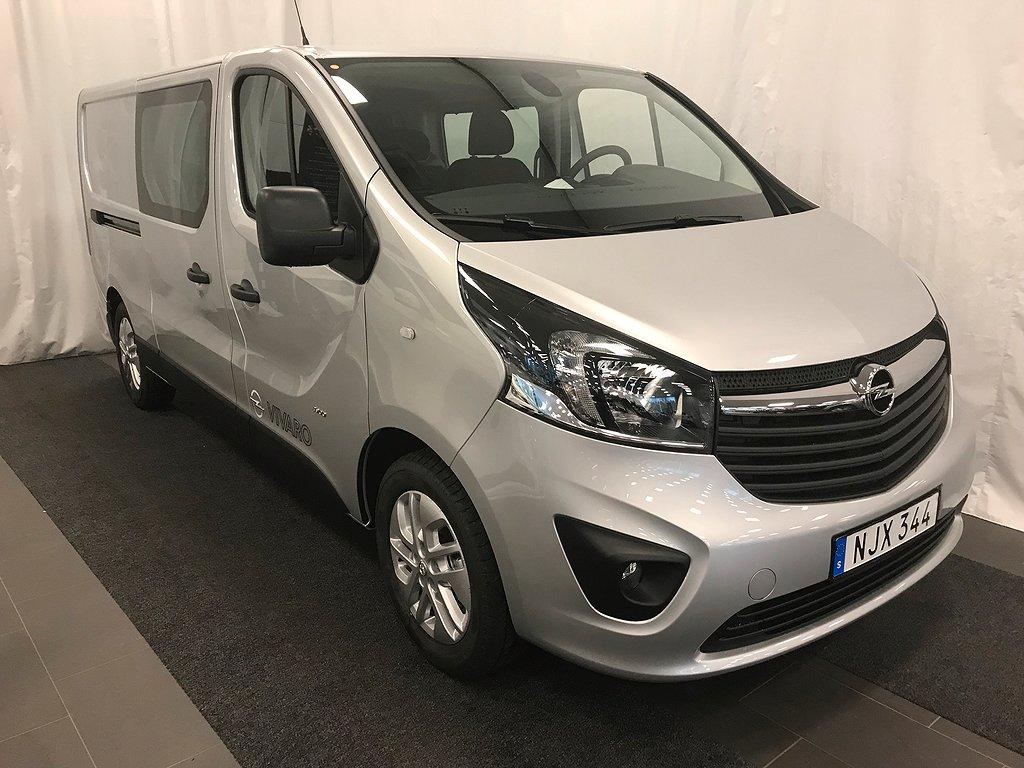 Opel Vivaro DUBBELHYTT, SNOEKS