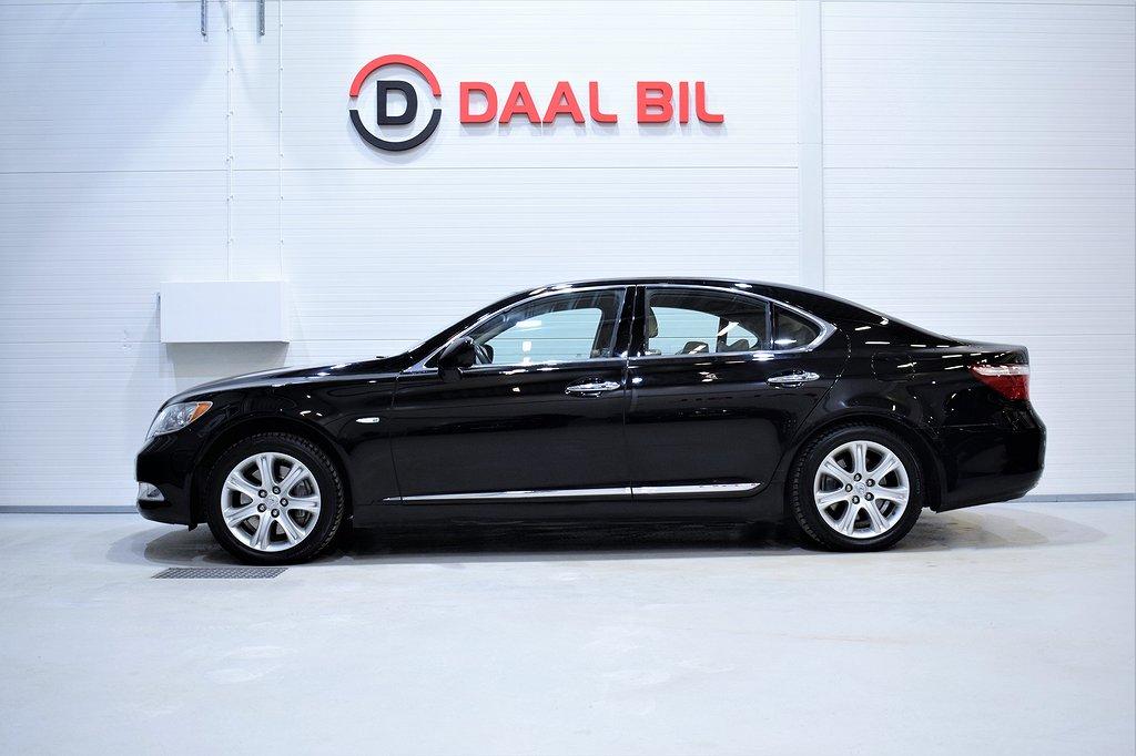 Lexus LS 460 4.6 381HK NAVI BACKKAM SE.UTR!!