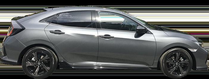 Modellbild av en Honda Civic