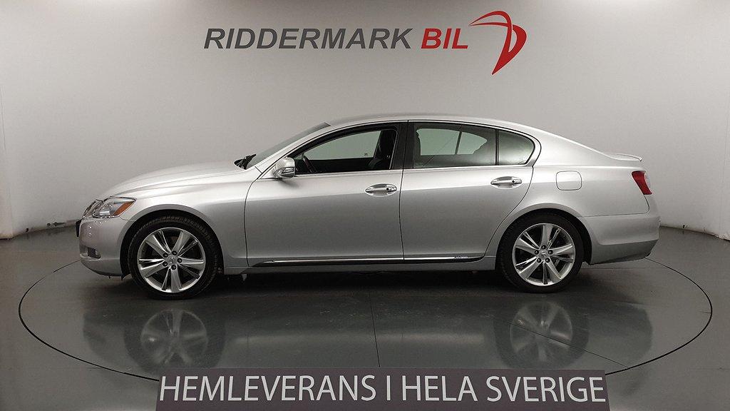 Lexus GS 450h 3.5 V6 CVT Navi Nyservad 345hk