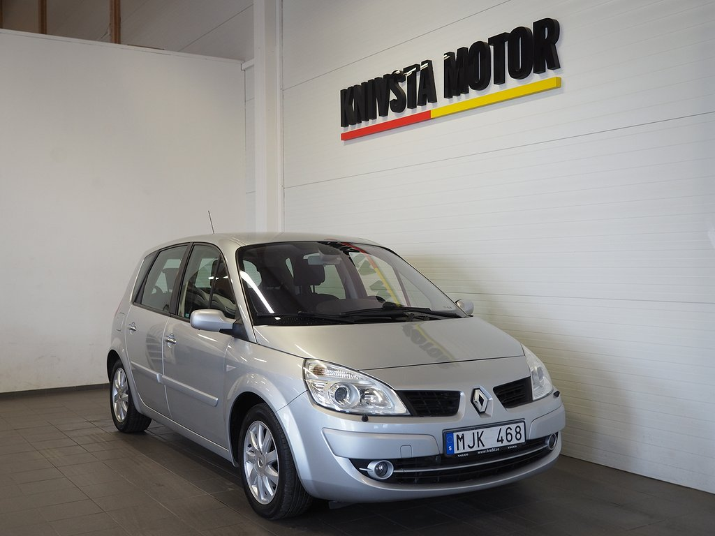 Renault Scénic 1.6 112hk (Drag, M-värmare) 2008
