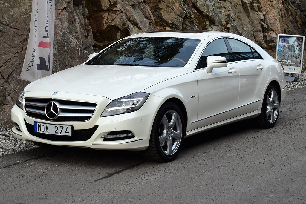 Mercedes-Benz CLS 350 BlueEFFICIENCY 7G-Tronic Plus 306hk