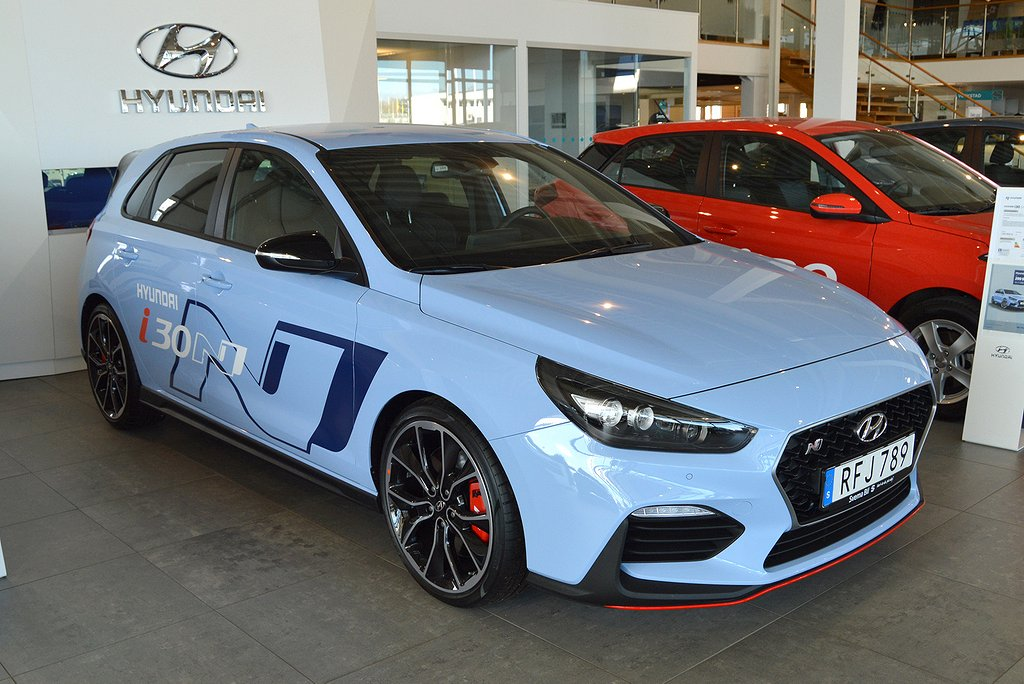 Hyundai i30 N 2.0 Turbo 275hk Preformance GT-pack