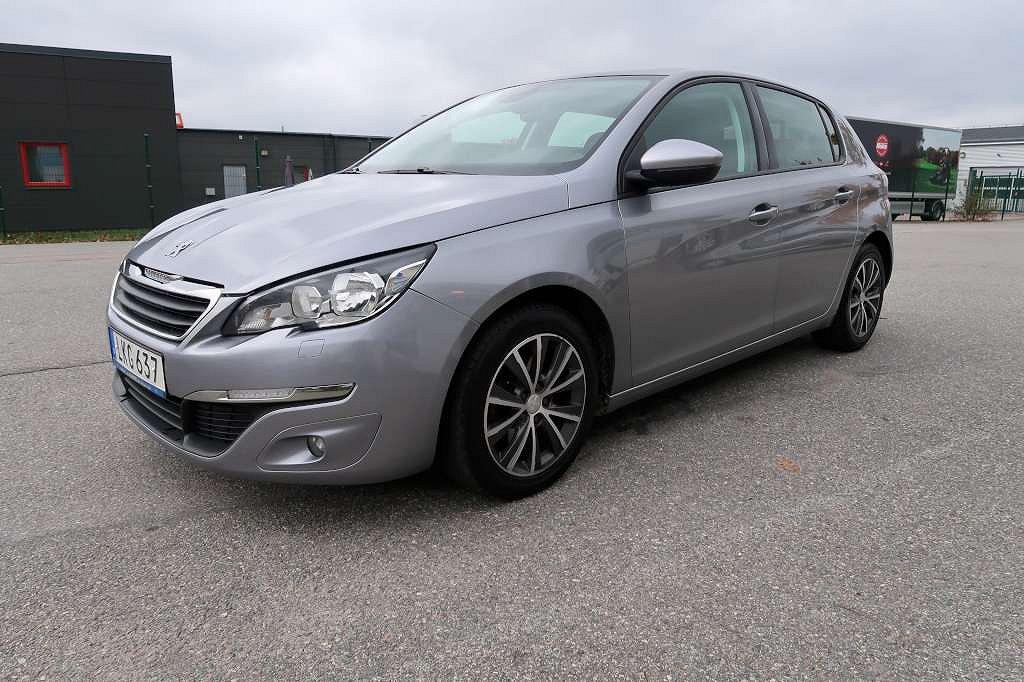 Peugeot 308 1.6 e-HDi FAP Active 115hk NYSERVAD!