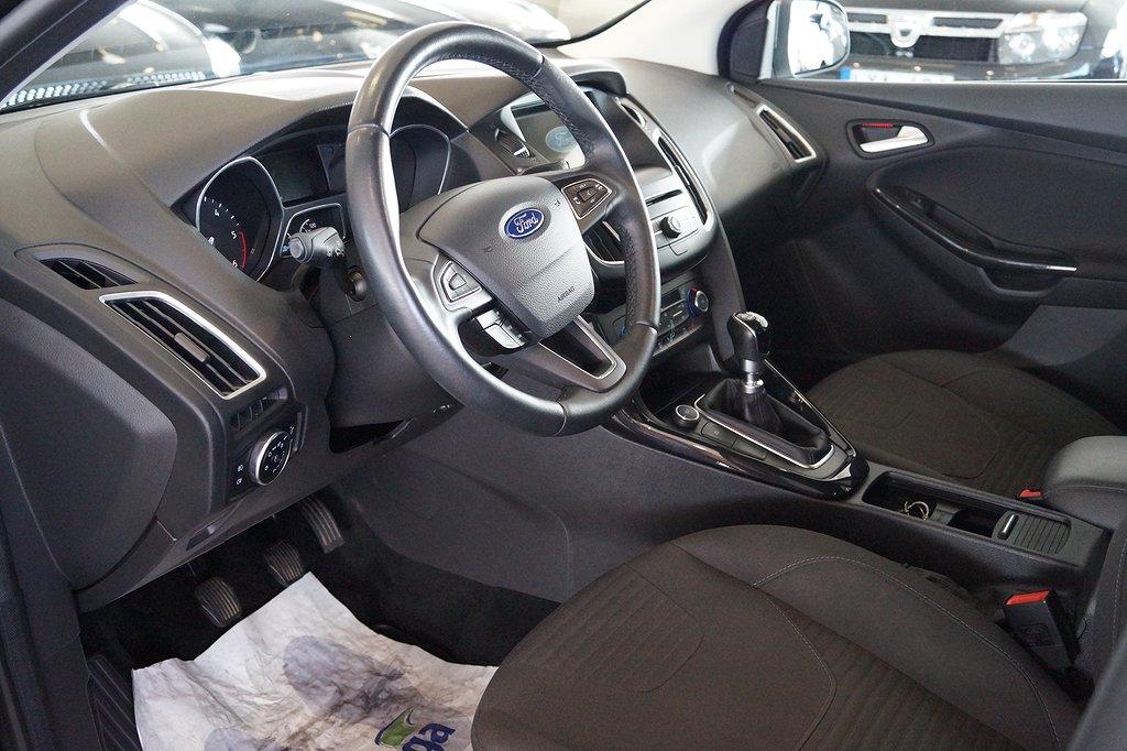Ford Focus Kombi 1.5 TDCi 95hk // *1,95% ränta & 5000kr i fritt bräns