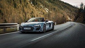 Nya Audi R8 V10 Performance RWD. Foto: Audi.