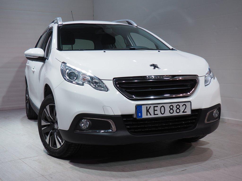Peugeot 2008 1.2 VTi Automat Euro 6 82hk 2016