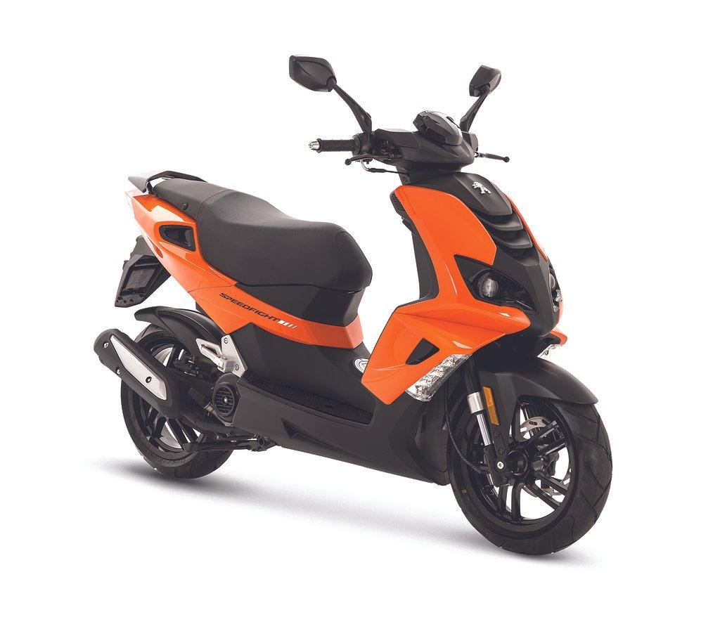 Peugeot Speedfight 4 Pulsar Orange 4-takt