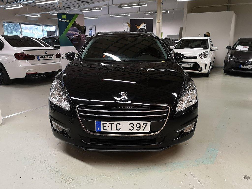 Peugeot 508 SW 1.6 HDi FAP 111hk Ny bes ny servad Avbet 0:-