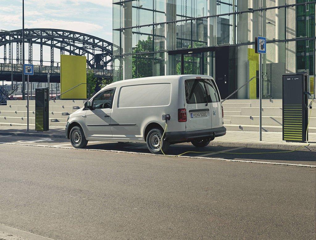 Volkswagen e-Caddy Maxi skåp ABT