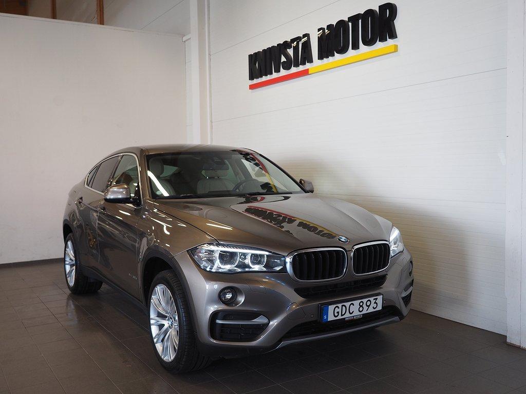BMW X6 xDrive30d Automat 258hk | D-värm | Navi | Backkamera 2017