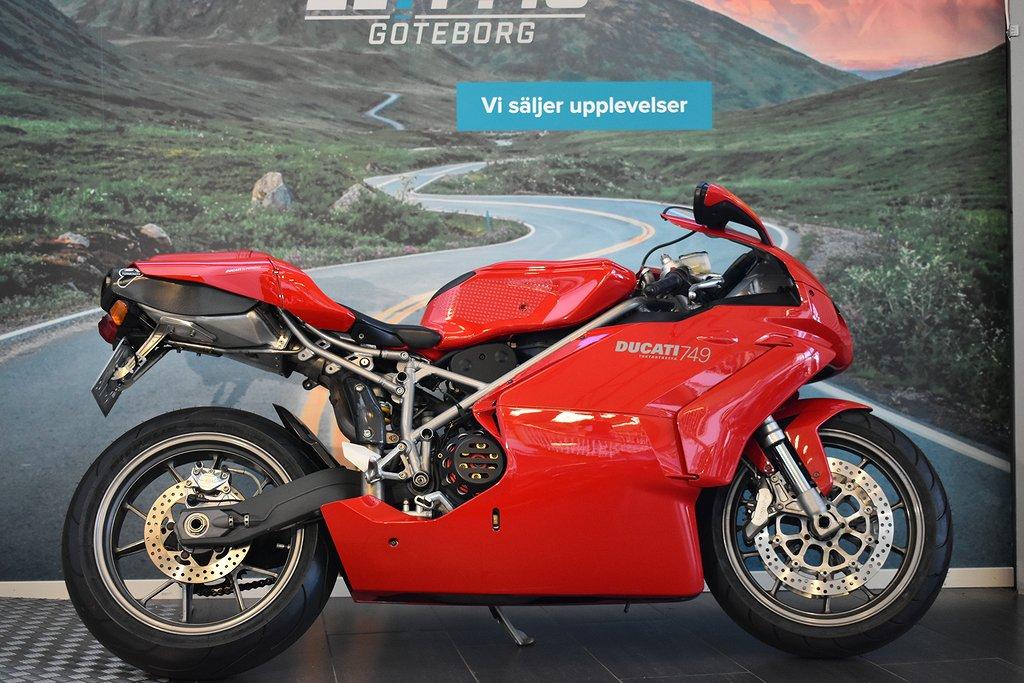 Ducati Ducati 749 Biposto | Helt genomgången | Nyservad