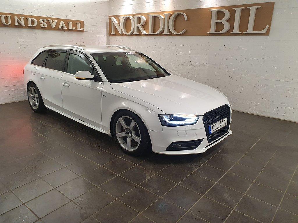 Audi A4 Avant 2.0 TDI quattro Launch Edition 177hk
