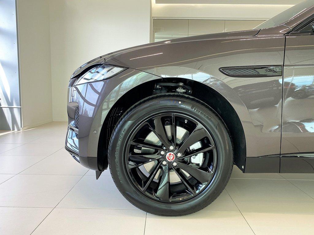 Jaguar F-Pace PHEV 404hk / Panorama / 3D Surround Kamera / Driver Assist