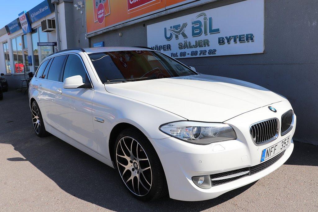 BMW 520 d Touring Steptronic 184hk MOTORVÄRMARE NYBESIKTIGAD