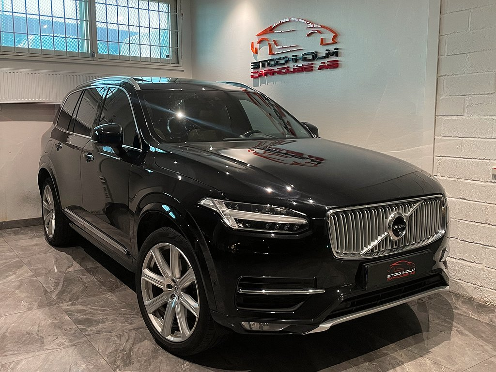 Volvo XC90 D5 AWD Geartronic Inscription, Euro6 7-sits 225hk