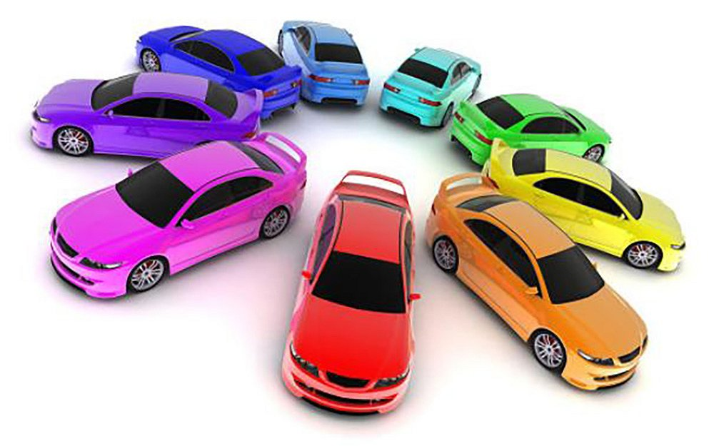 färg på bil