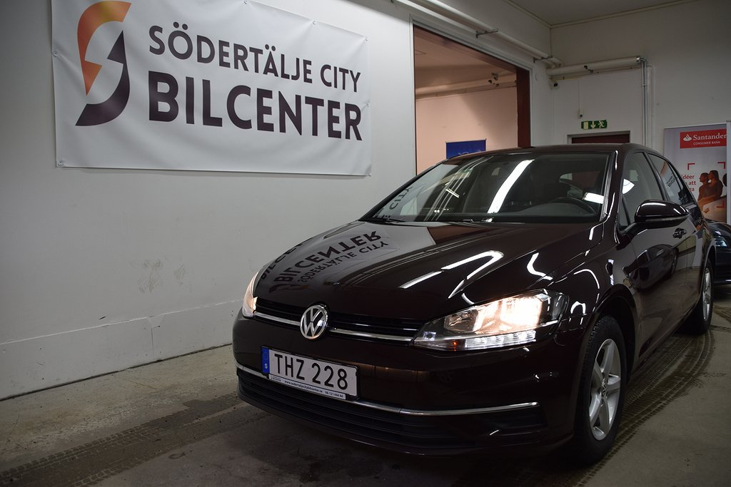 Volkswagen Golf 5-dörrar 1.6 TDI BlueMotion DSG D-Värmare Euro 6 115hk