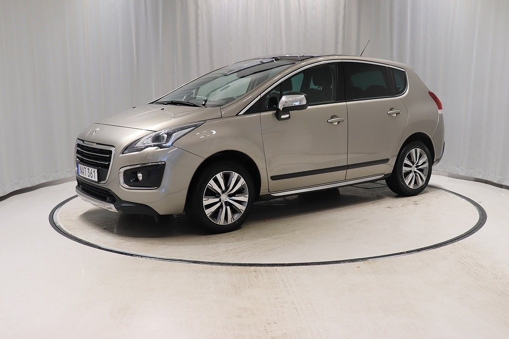 Peugeot 3008 1.6 HDI Allure Aut Drag Värmare Nav Panorama
