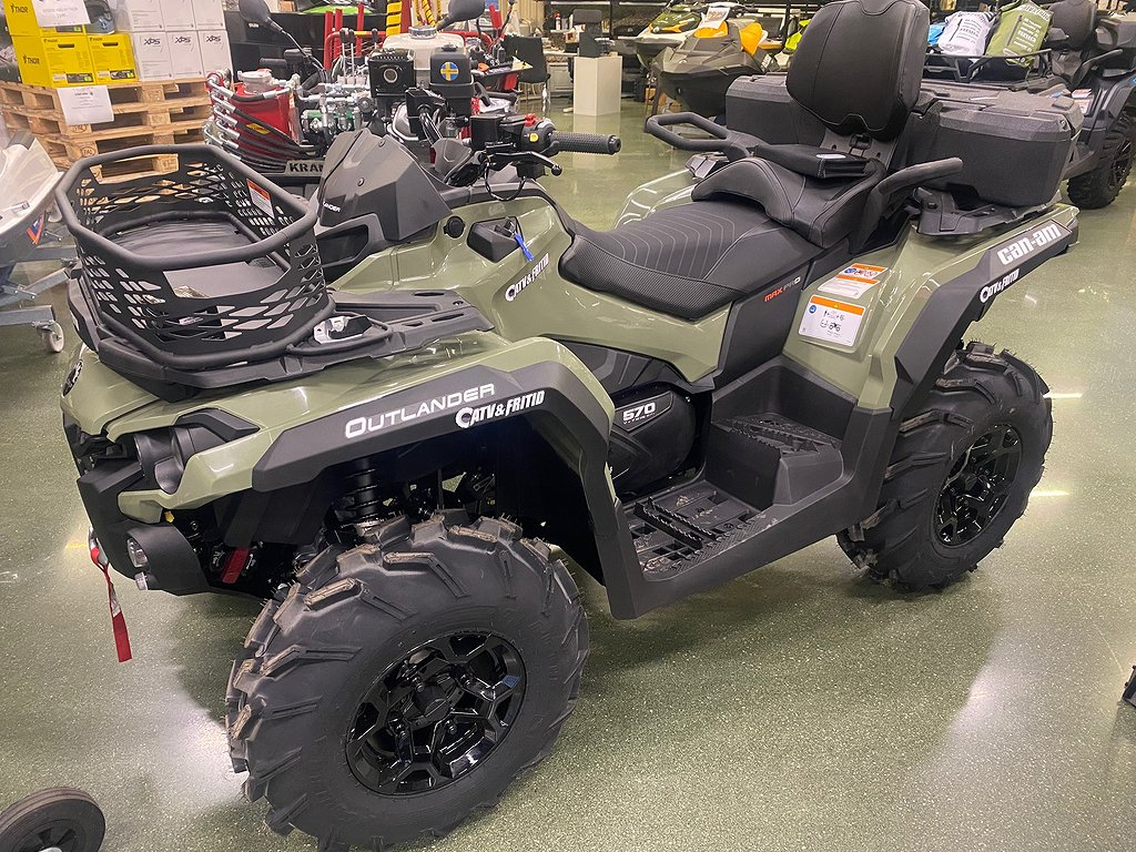 Can-Am Kampanj! Outlander MAX PRO+T 570 T3B