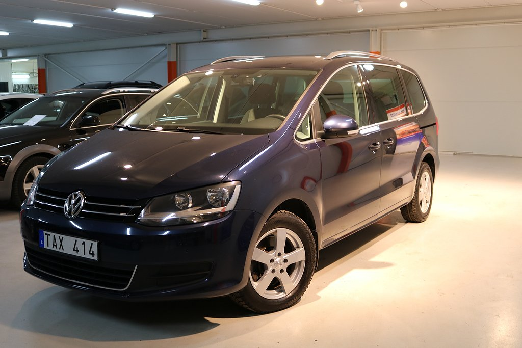 Volkswagen Sharan 2.0TDI 140HK / 1ägare / Bluetooth / PSD