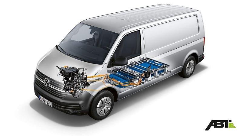 Volkswagen E-Transporter 100% el, 0 kr kontant Service ingår