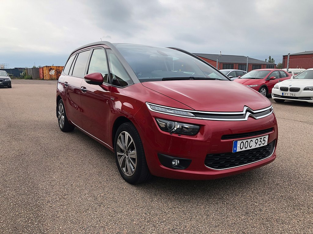 Citroën C4 Grand Picasso 2.0 HDi EAT Euro 6 7-sits 150hk