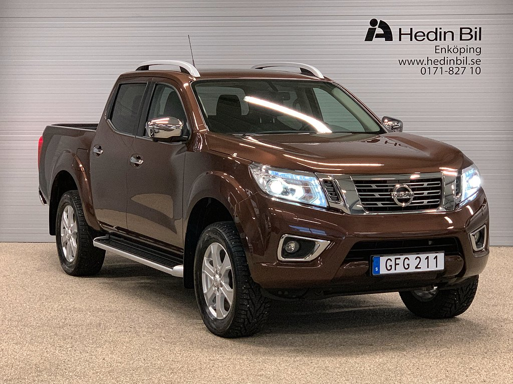 Nissan Navara DC 2.3 DCI E6 190HP AT LEATHER DEMO