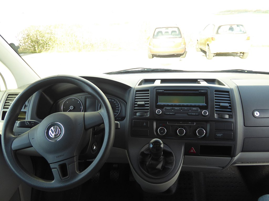 Volkswagen Transporter T5 2.0 TDI 140 HK Nyservad