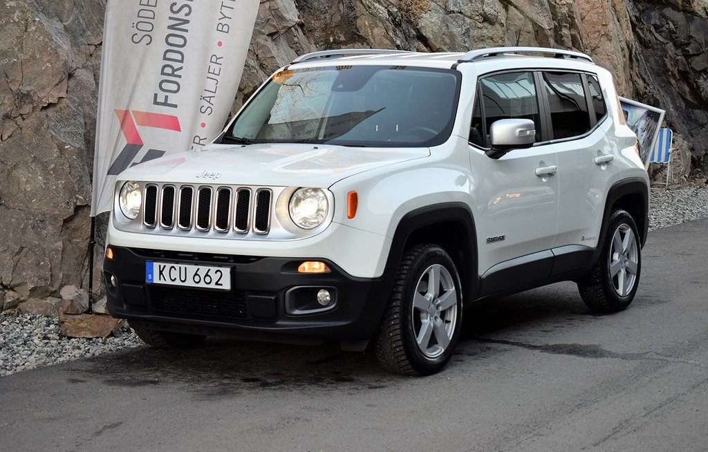 Jeep Renegade 2.0 CRD 4WD Automat Limited Euro 6 140hk
