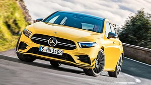 Mercedes-AMG sätter tänderna i A-klass