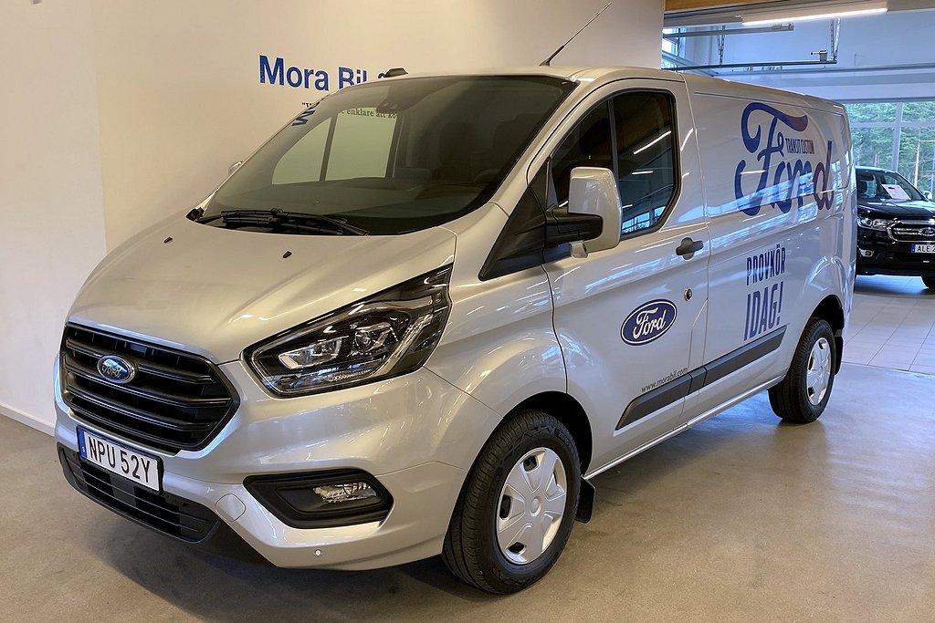 Ford Transit Custom Skåp Trend 280L1 2.0L130hk Demo Bil!