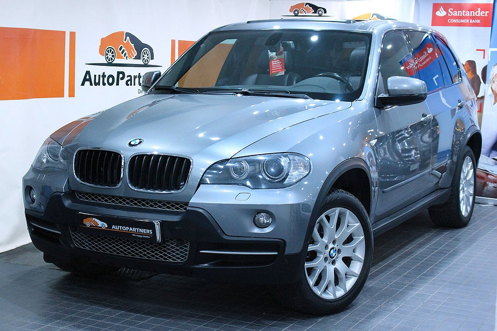 BMW X5 3.0si Sport line 7-sits 272hk PANORAMA BRÄNSLEVÄRMARE